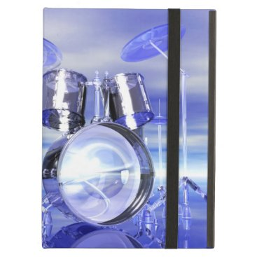 Beach Themed Drums On the Beach Monogram iPad Air Covers
