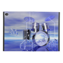 Drums On the Beach Monogram iPad Mini 4 Case