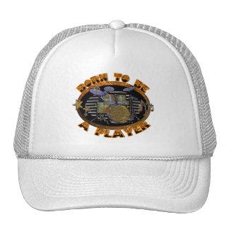 Drums Player Trucker Hat