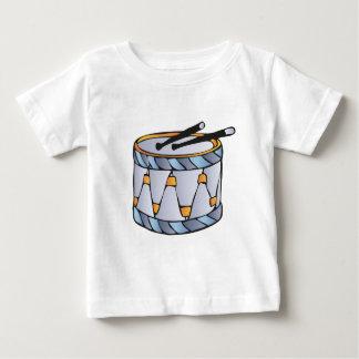 drums playera de bebé