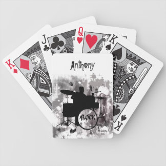 Drums Playing Cards