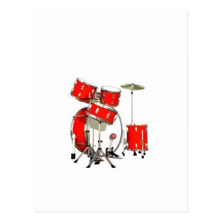 Drums Postcard