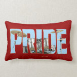 Drums PRIDE Throw Pillow