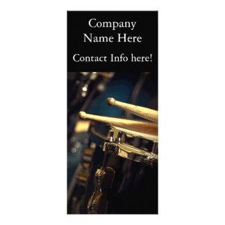 Drums Rack Card
