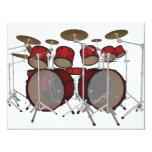 Drums: Red Drum Kit: 3D Model: Announcements