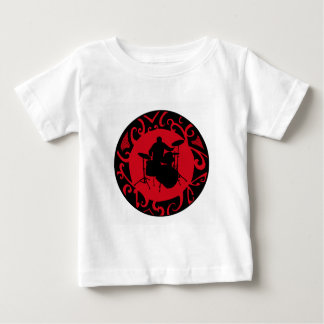 DRUMS RED SKIES BABY T-Shirt