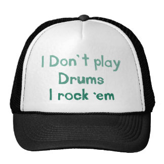 Drums Rock It Hat