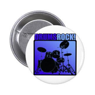 Drums Rocks! 2 Inch Round Button