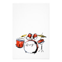 drums stationery