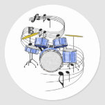 Drums Stickers