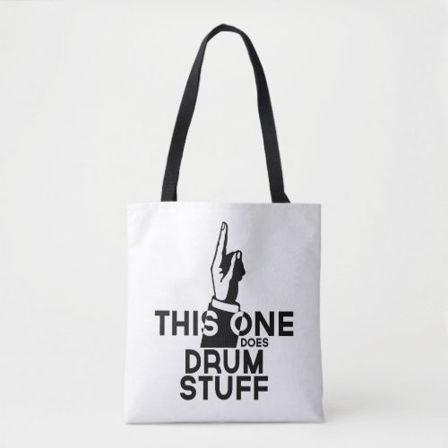 Drums Stuff _ Funny Drums Music Tote Bag