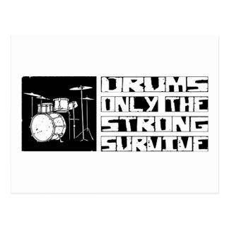 Drums Survive Postcard