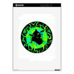 DRUMS THE CIRCLE iPad 2 DECALS