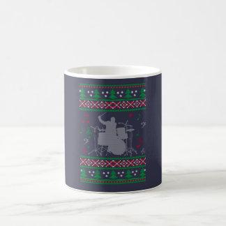 Drums Ugly Christmas Coffee Mug