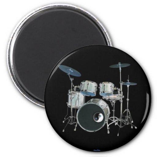Drums & Yin-Yang Magnet