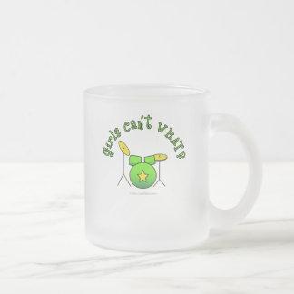 Drumset - Green Coffee Mugs
