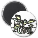 Drumset magnet