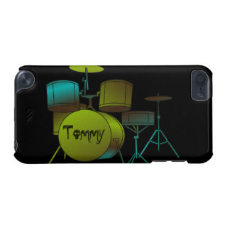 Drumset Personalized iPod Touch Casemate Case