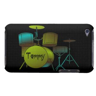 Drumset personalizó la caja de la casamata del tac Case-Mate iPod touch carcasa