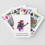drumset pink.png rojo de la guitarra eléctrica baraja de cartas