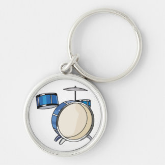 drumset simple three piece blue.png keychain