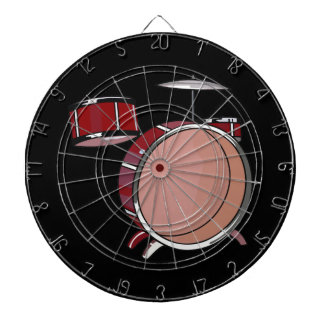 drumset simple three piece red.png dartboards