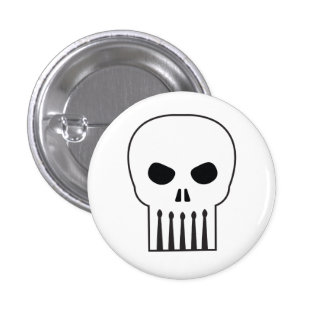 Drumskull button...with no words. button