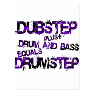 Drumstep Postcard