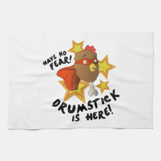 Drumstick Is Here Towels
