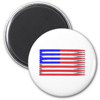Drumsticks 2 Inch Round Magnet