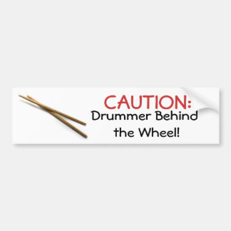 Drumsticks Cards & Gifts Bumper Sticker