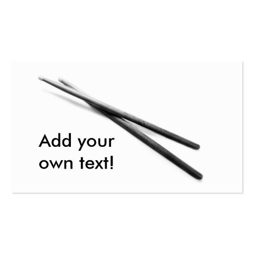 Drumsticks Cards & Gifts Business Cards