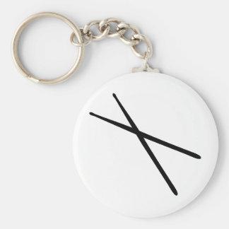 drumsticks icon keychains