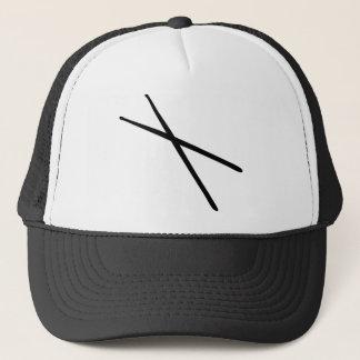 drumsticks icon trucker hat