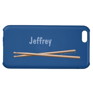 Drumsticks iphone Case for Drummers Your Color