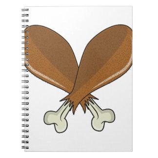 Drumsticks Spiral Notebook