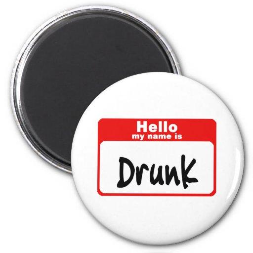 Drunk2 Fridge Magnets
