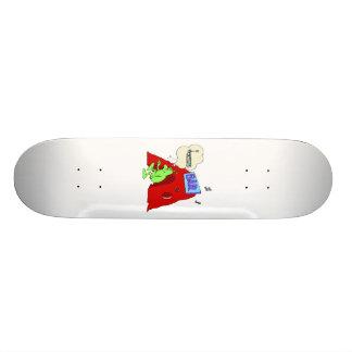 Drunk alien skateboard