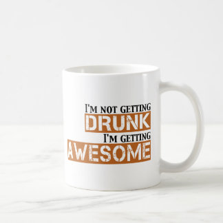 drunk awesome coffee mug