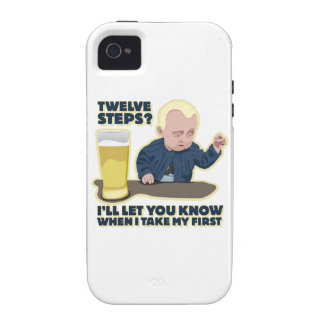 Drunk Baby 12 Step Program? iPhone 4/4S Covers