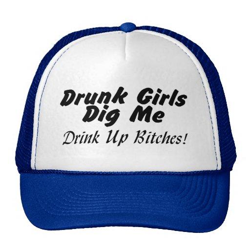 Drunk Chicks Dig Me Trucker Hat