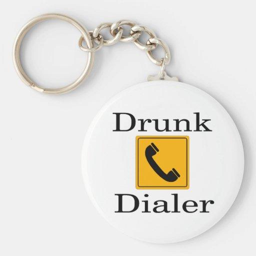 Drunk Dialer Keychain