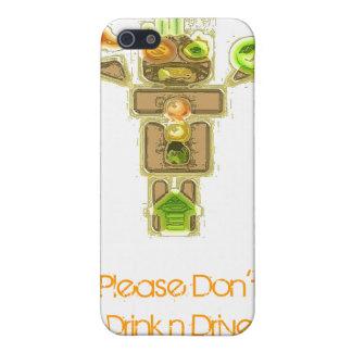 Drunk Driver Blurred Vision iPhone 5 Case