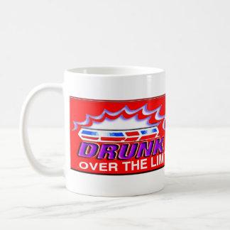 Drunk Driving Over the Limit Under arrest Coffee Mug