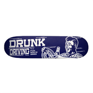 Drunk Driving Skateboard