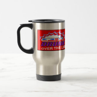 Drunk Driving Steel Mug