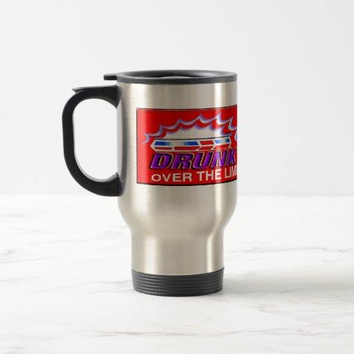 Drunk Driving Steel Mug