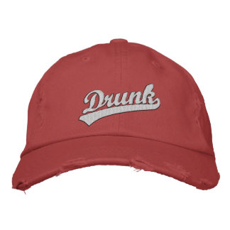 Drunk Embroidered Hat