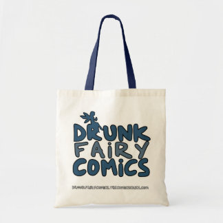 Drunk Fairy Comics Bag - Great for Cons