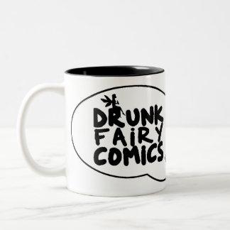 Drunk Fairy Comics Speech Bubble Mug